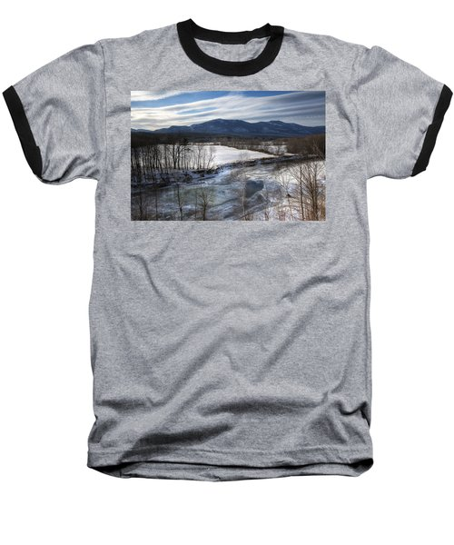 Winter In North Conway Baseball T-Shirt