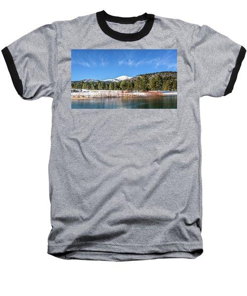 Winter In Ruidoso Baseball T-Shirt