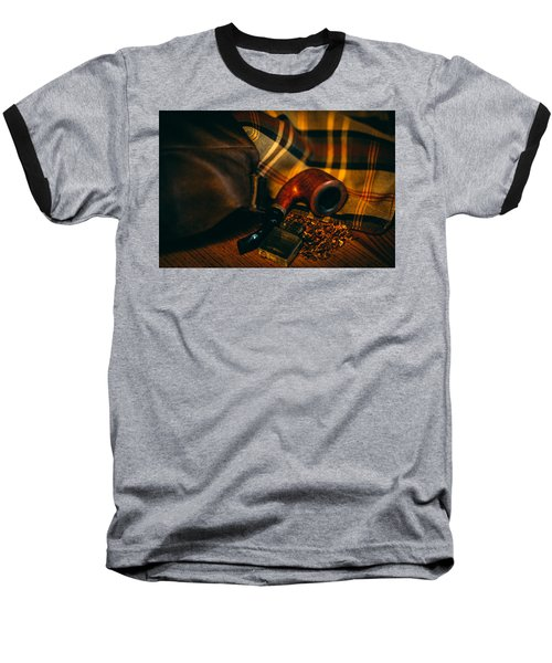 Winter In The Air Baseball T-Shirt