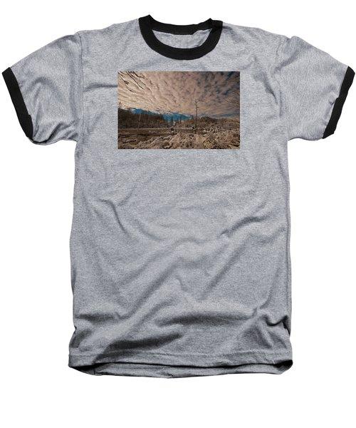 Winter In The Wetlands Baseball T-Shirt