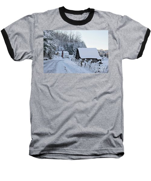 Winter In Virginia Baseball T-Shirt