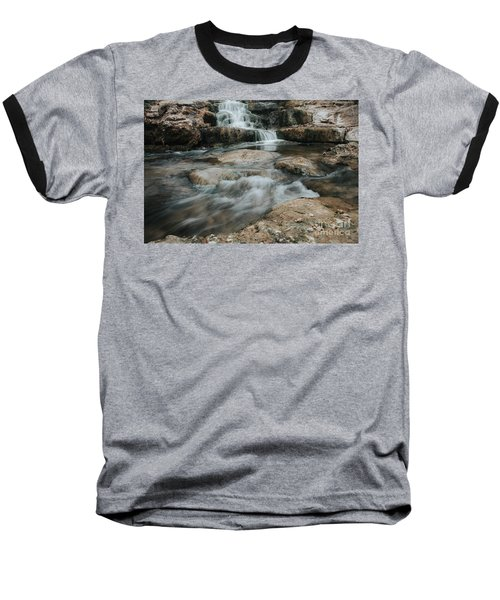 Winter Inthe Falls Baseball T-Shirt by Iris Greenwell