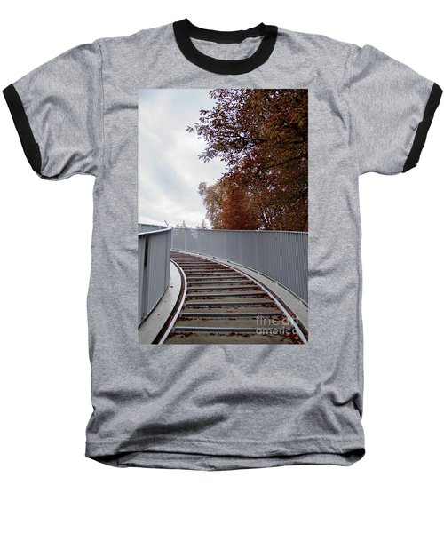 Winter Is Around The Corner Baseball T-Shirt by Ana Mireles