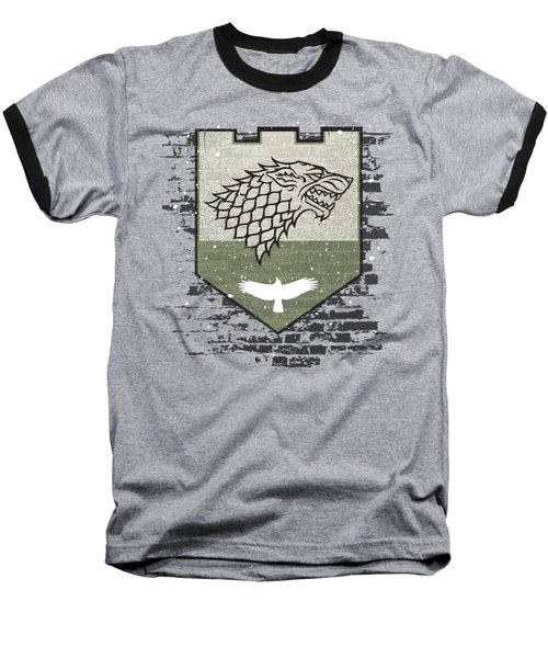 Winter Is Here Stark Banner Baseball T-Shirt