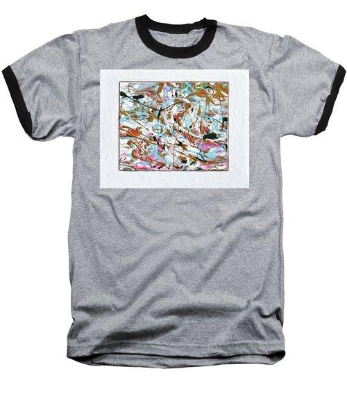 Winter Joy Baseball T-Shirt by Donna Blackhall