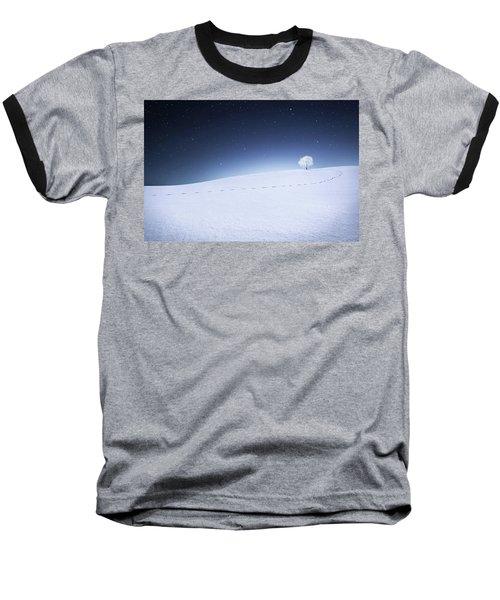 Baseball T-Shirt featuring the photograph Winter Landscape by Bess Hamiti