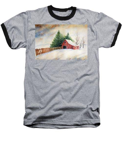 Winter Landscape IIi Baseball T-Shirt