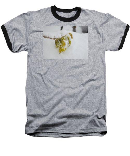 Winter Leaves Baseball T-Shirt