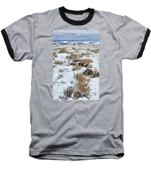 Winter Light In The High Desert Baseball T-Shirt