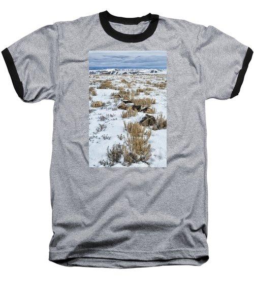 Winter Light In The High Desert Baseball T-Shirt