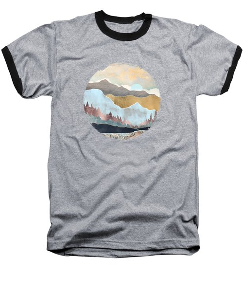 Winter Light Baseball T-Shirt