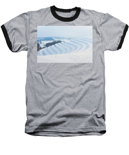 Winter Lines Baseball T-Shirt