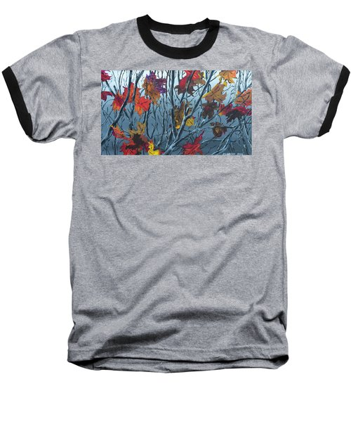 Winter Maple Baseball T-Shirt