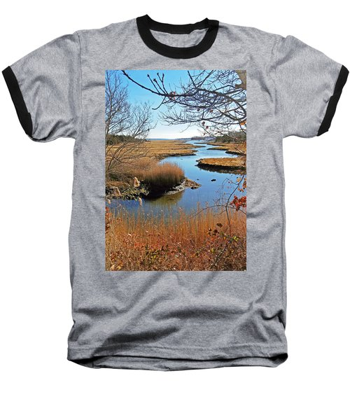 Winter Marsh Baseball T-Shirt