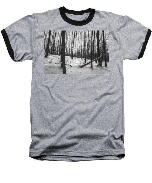 Winter Morning Dream Baseball T-Shirt