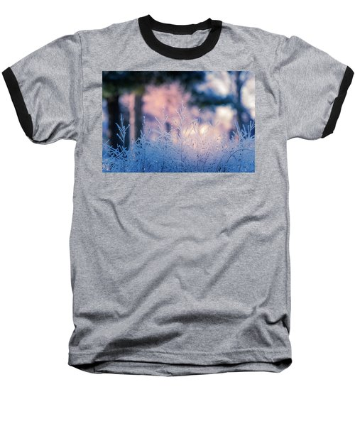 Winter Morning Light Baseball T-Shirt