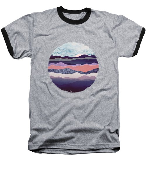 Winter Mountains Baseball T-Shirt