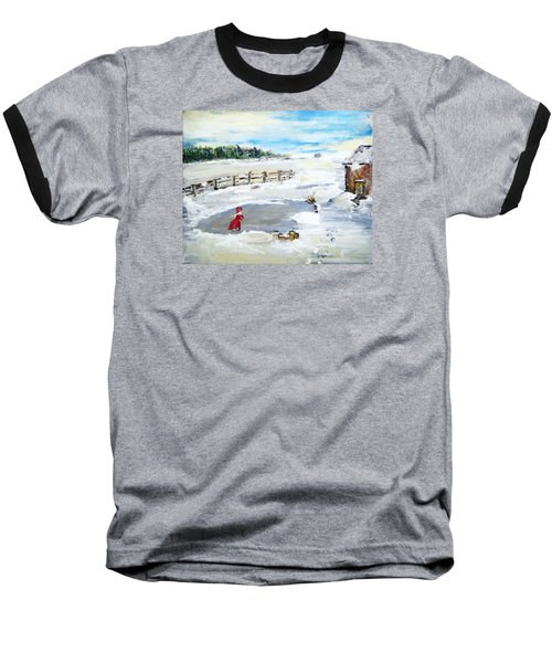 Winter Of Our Youth  Baseball T-Shirt