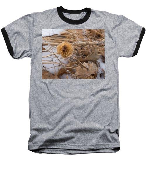 Winter On The Range Baseball T-Shirt