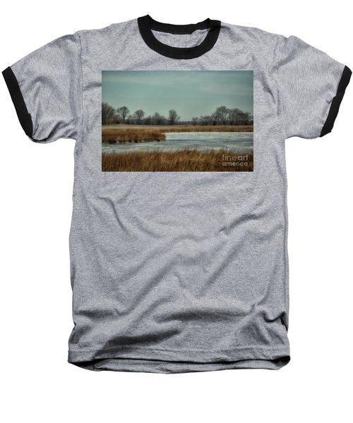 Winter On The Water Baseball T-Shirt