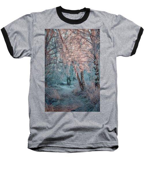 Winter Path #h1 Baseball T-Shirt