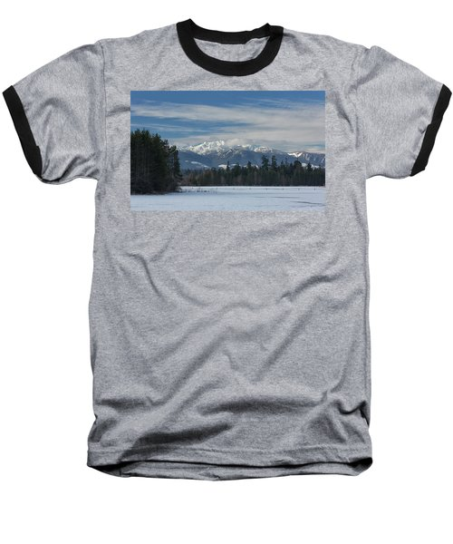 Baseball T-Shirt featuring the photograph Winter by Randy Hall