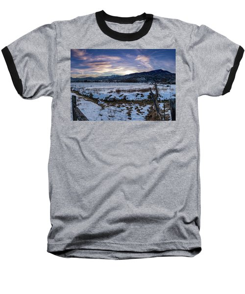 Sunset Range Baseball T-Shirt