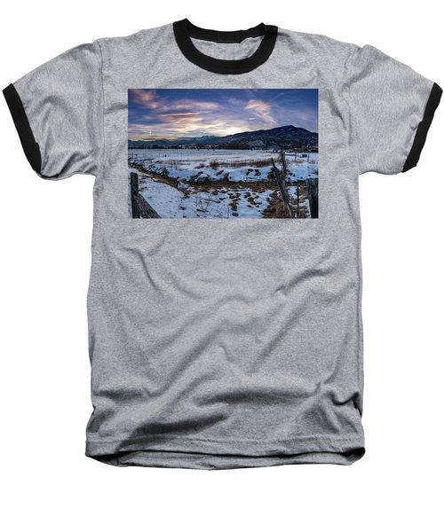 Sunset Range Baseball T-Shirt