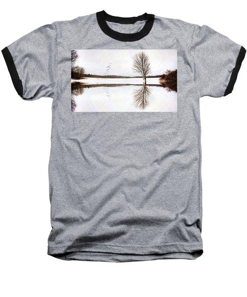 Winter Reflection Baseball T-Shirt