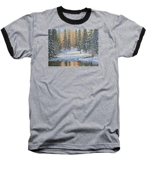 Winter Reflections Baseball T-Shirt
