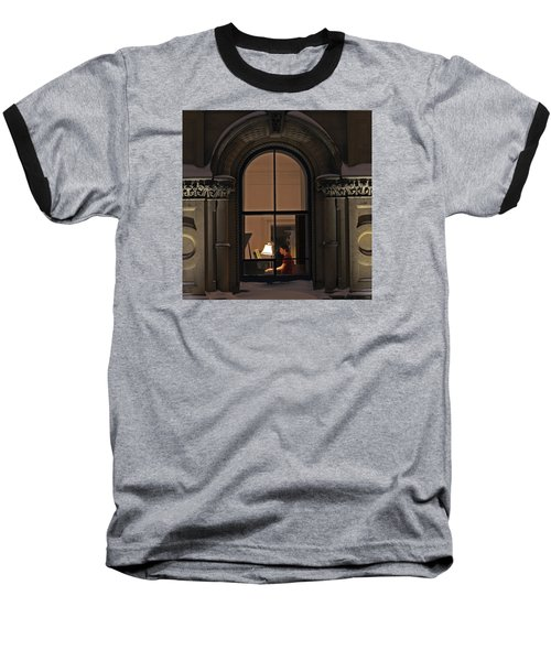 Baseball T-Shirt featuring the photograph Winter Rehearsal by Stephen Flint