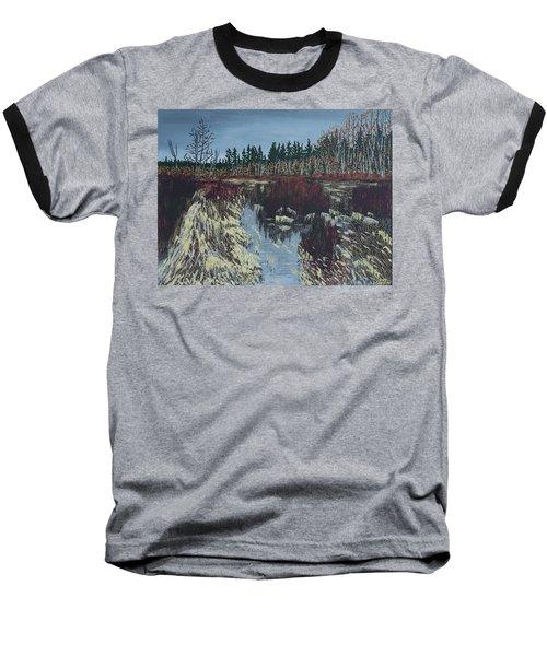 Winter River Baseball T-Shirt