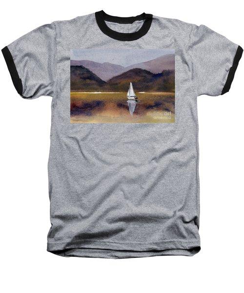 Winter Sailing At Our Island Baseball T-Shirt