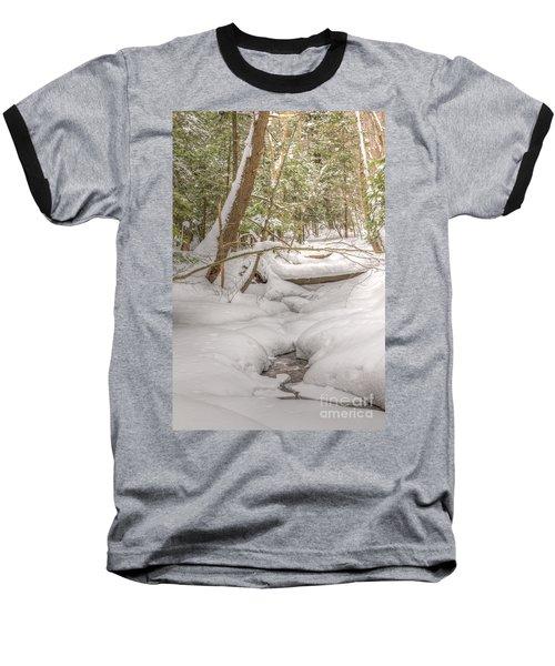Winter Serenity Baseball T-Shirt