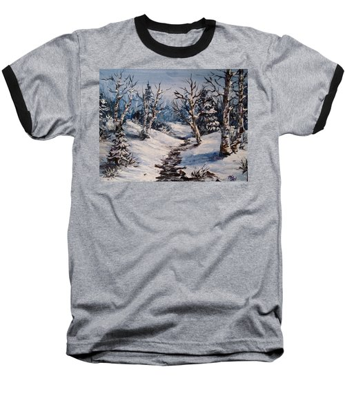 Winter Silence Baseball T-Shirt