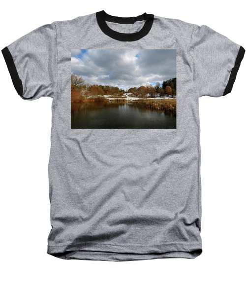 Winter Sky Baseball T-Shirt