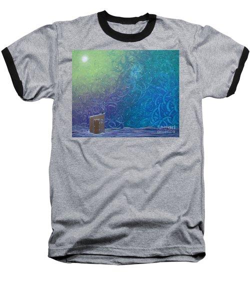 Winter Solitude 2 Baseball T-Shirt by Jacqueline Athmann