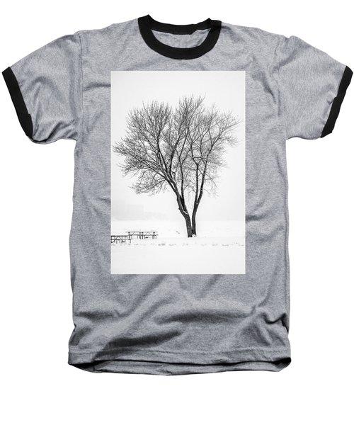 Winter Solitude Baseball T-Shirt