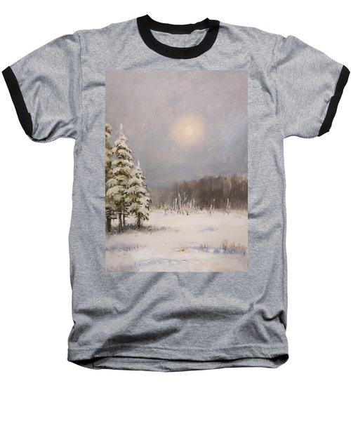 Winter Stillness Baseball T-Shirt