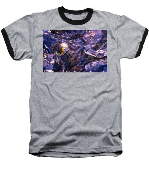 Winter Streams Baseball T-Shirt