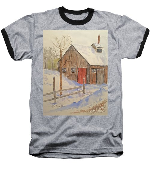 Winter Sugar House Baseball T-Shirt