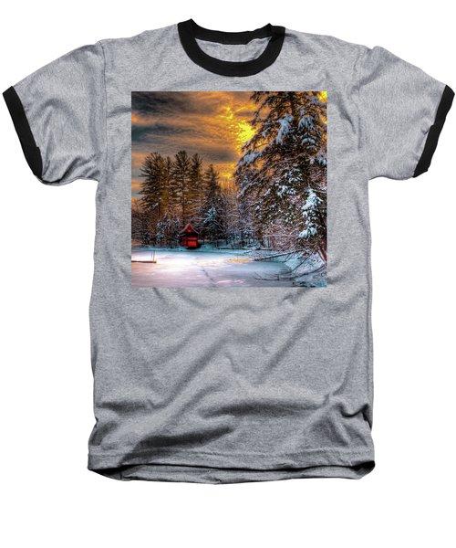 Winter Sun Baseball T-Shirt