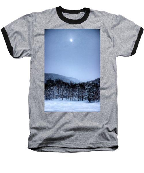 Winter Sun Baseball T-Shirt by Jonny D