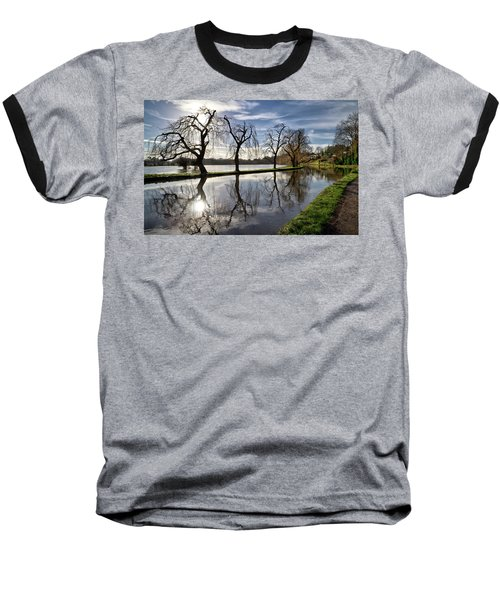 Baseball T-Shirt featuring the photograph Winter Sun by Shirley Mitchell
