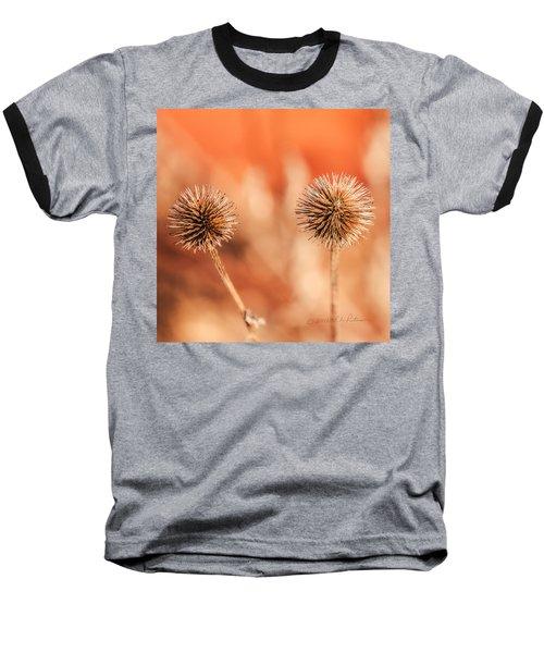 Winter Thistle Baseball T-Shirt