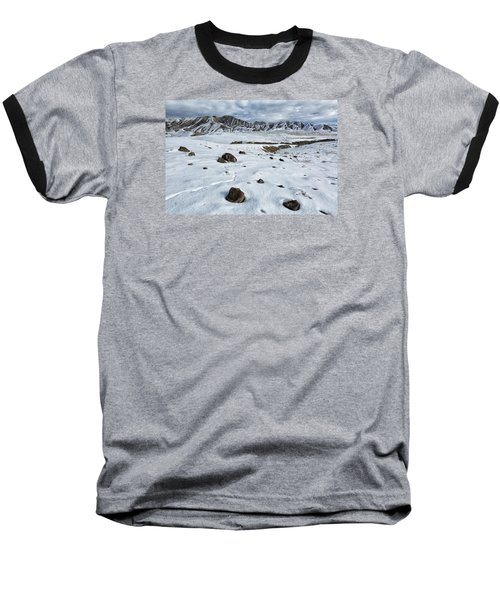 Winter Tracks Baseball T-Shirt