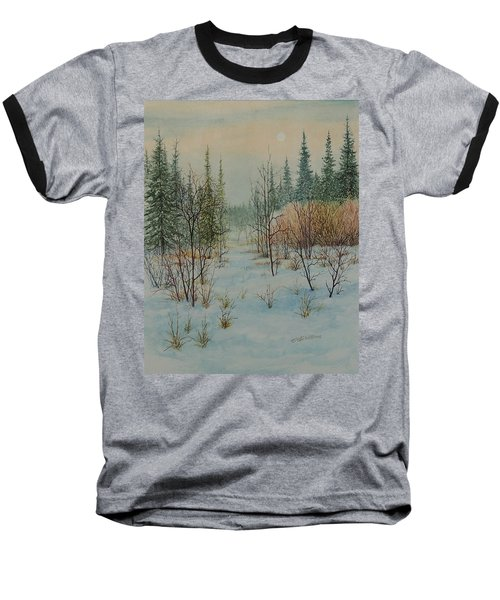 Winter Trail Alberta Baseball T-Shirt