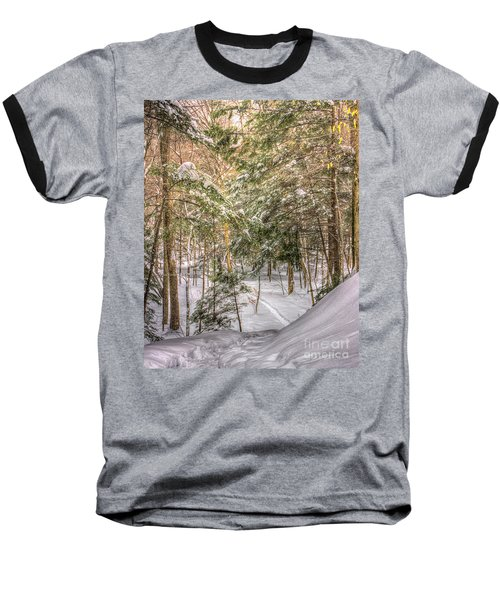 Into The Woods Baseball T-Shirt