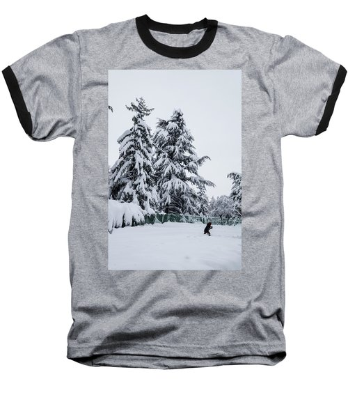 Winter Trekking-2 Baseball T-Shirt