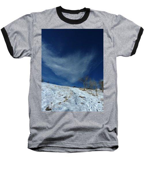 Winter Walk Baseball T-Shirt